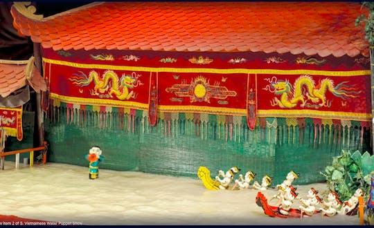 Vietnamese Water Puppet evening show with dinner