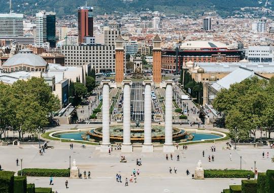 Magico gioco di esplorazione di Montjuic e tour