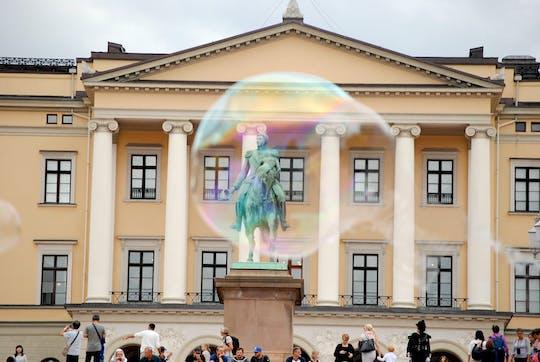 Jeu d'exploration et visite de la vieille ville d'Oslo