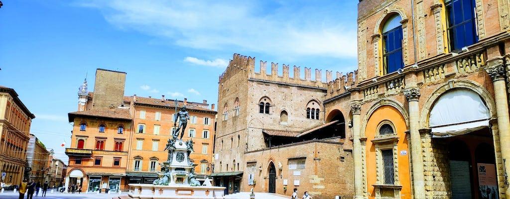 Historisch centrum van Bologna-verkenningsspel en -tour