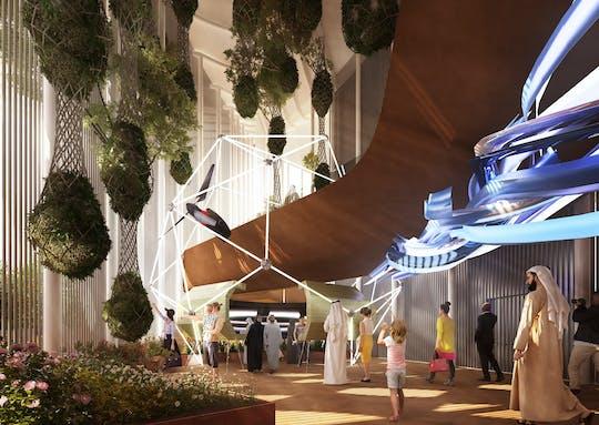 Expo 2020 Dubai tickets with audioguide and Dubai city tour from Dubai