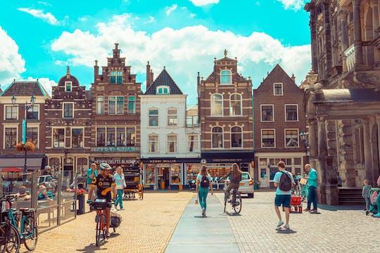 Delft Blue exploration game and tour