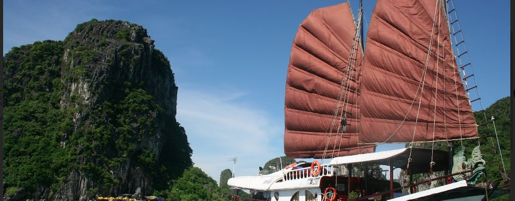 Ha Long Bay cruise and caves half-day tour from Ha Long