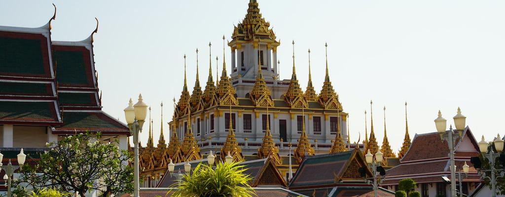 Passeio e jogo de exploração da Cidade Velha de Bangkok e templos