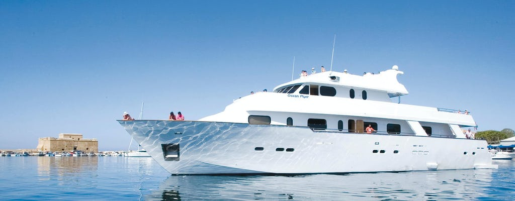 Ocean Flyer Half-day Cruise from Paphos