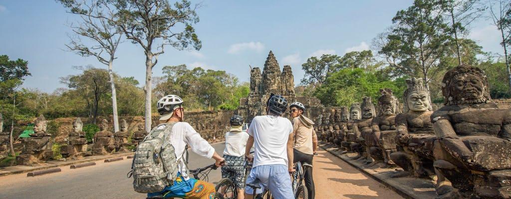 Descubra Angkor Wat de bicicleta