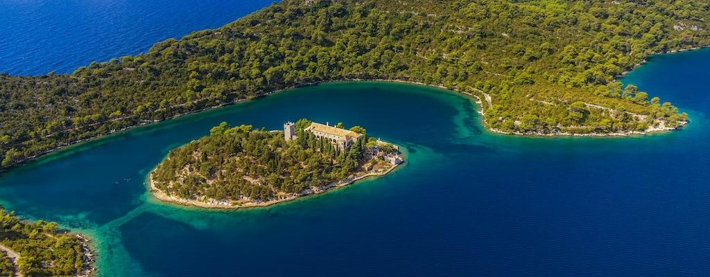 Passeio de barco a motor privado ao Parque Nacional Mljet de Dubrovnik