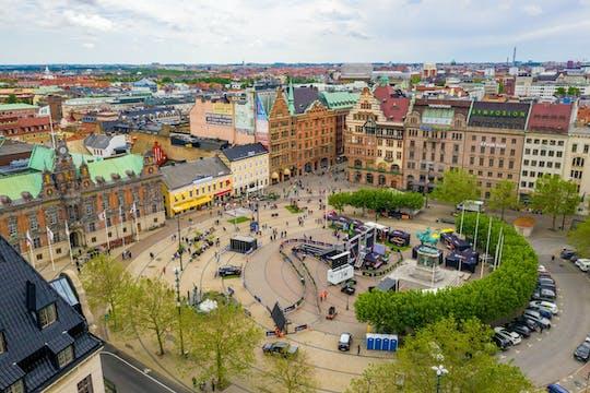 Klassische private Fahrradtour durch Malmö