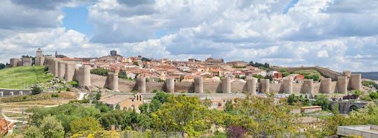Ávila e Segóvia o dia inteiro de Madrid