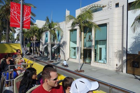 Billete combinado para el tour turístico Hop-on, Hop-off y Malibu Celebrity Homes