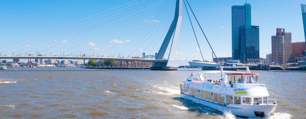 1 uur durende rondvaart op de Maas in Rotterdam
