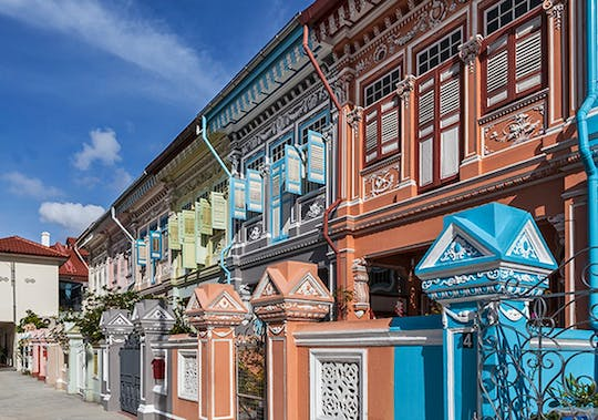 The Peranakan legacy tour with a home hospitality experience