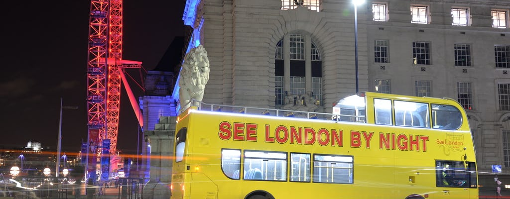 Tour nocturno en autobús por Londres