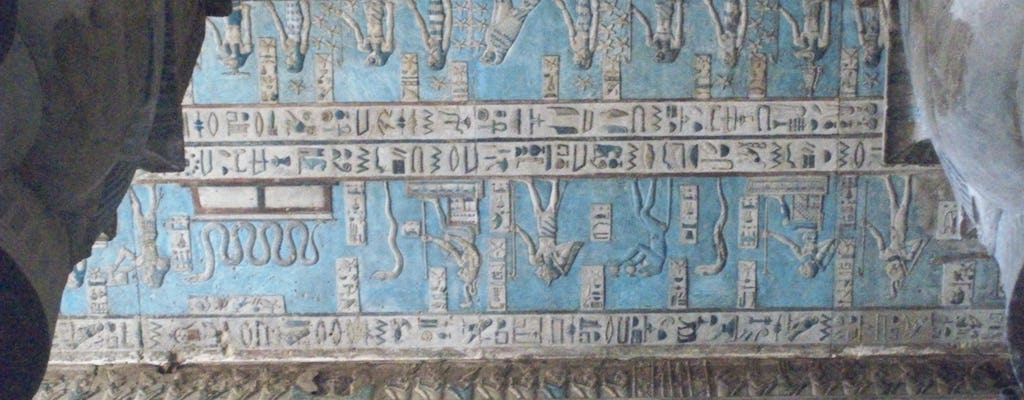 Guided tour to Dendera temple and Nile experience onboard a felucca plus lunch from Luxor