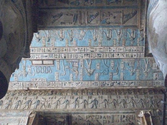Visita guiada ao templo de Dendera e experiência do Nilo a bordo de uma feluca e almoço em Luxor