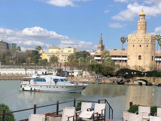 Giro in yacht lungo il Guadalquivir a Siviglia