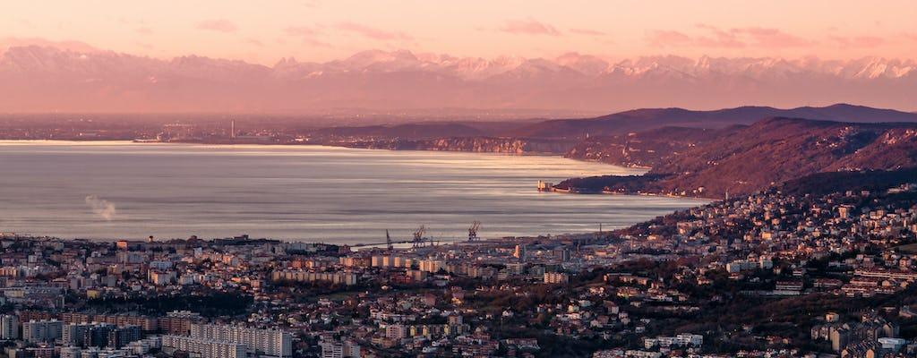 Visita guiada panorâmica de Trieste ao Castelo Miramare