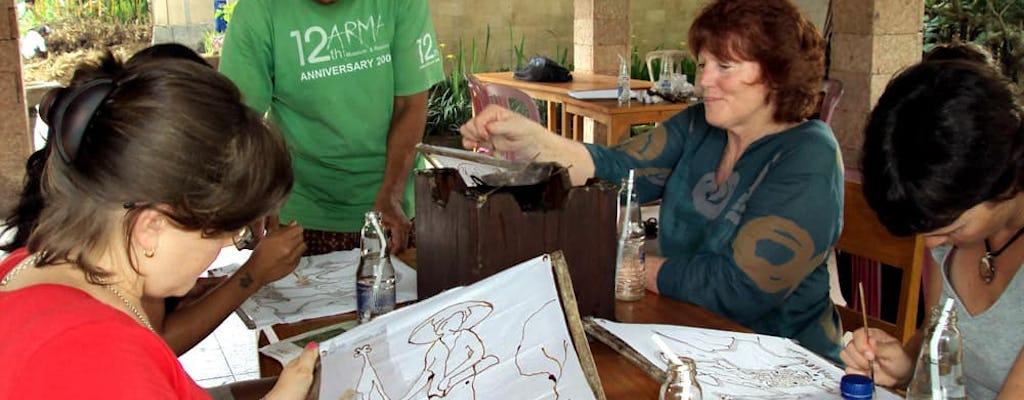 Balinesischer Batik-Workshop bei Arma Meeting Point