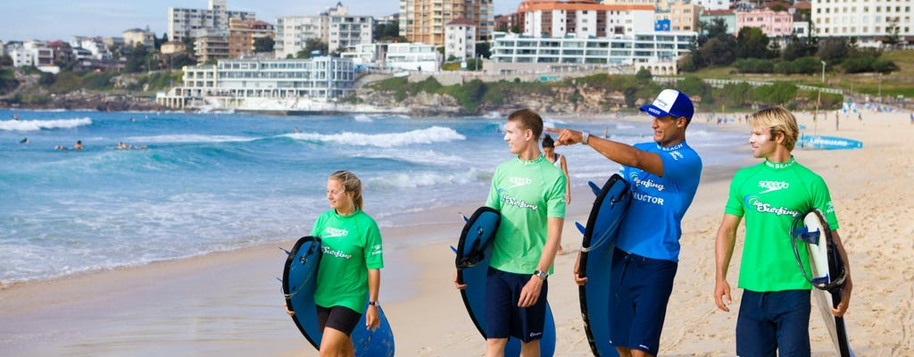 Lezione di surf per principianti a Bondi Beach
