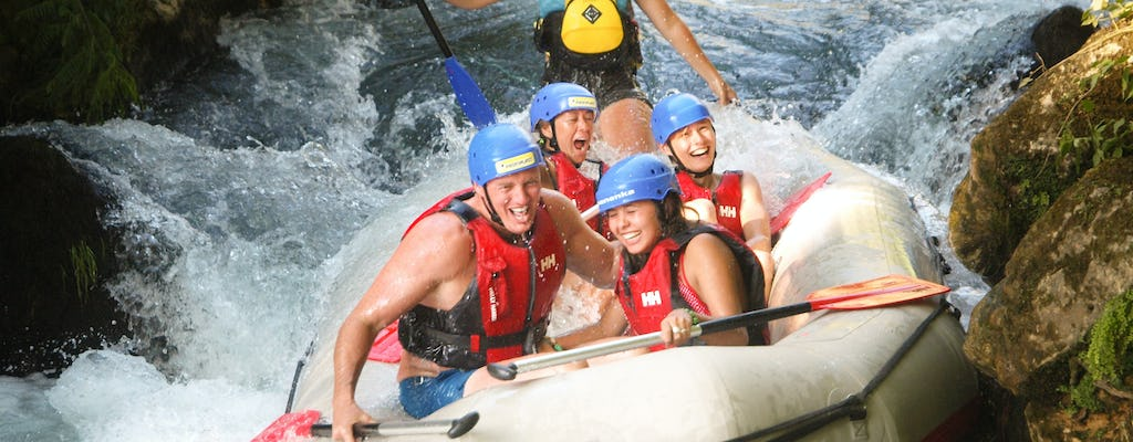 Discover Cetina River rafting, cliff jumping and more