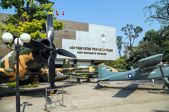 Private full-day Ho Chi Minh historical spots and War museum tour