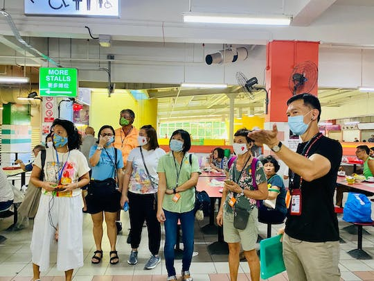 Hawker Heroes and their untold stories STEP walking tour