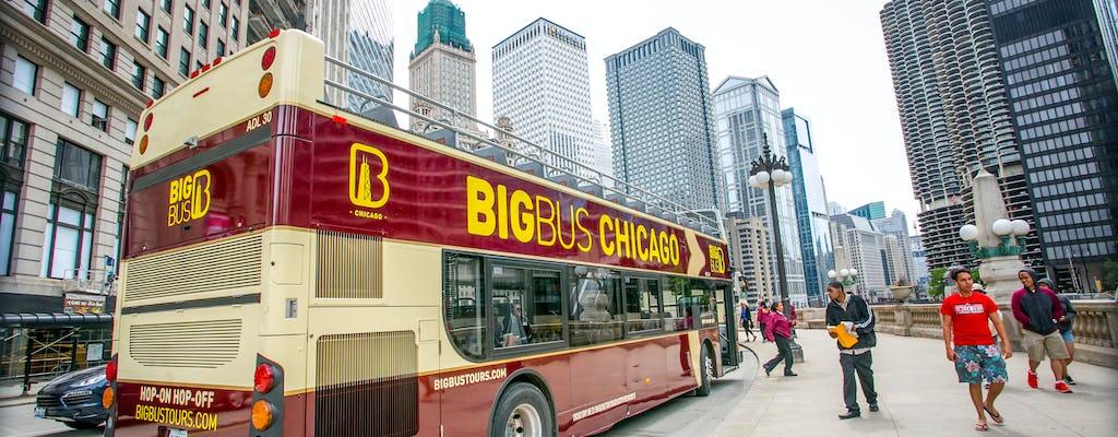 Visite en Big Bus de Chicago avec bus de nuit panoramique