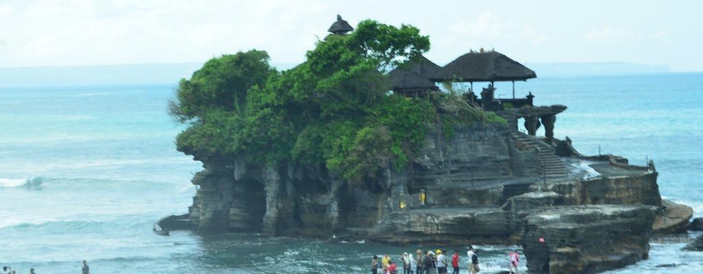 Royal temple, Beratan lake and Tanah Lot sunset private tour