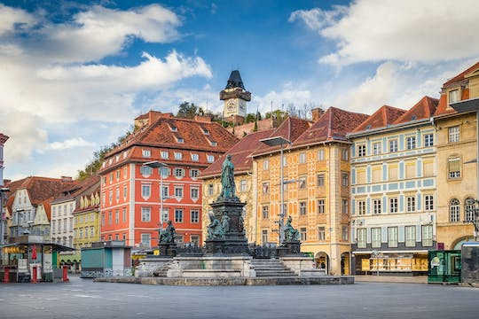 Private walking tour to the highlights of Graz´s old town