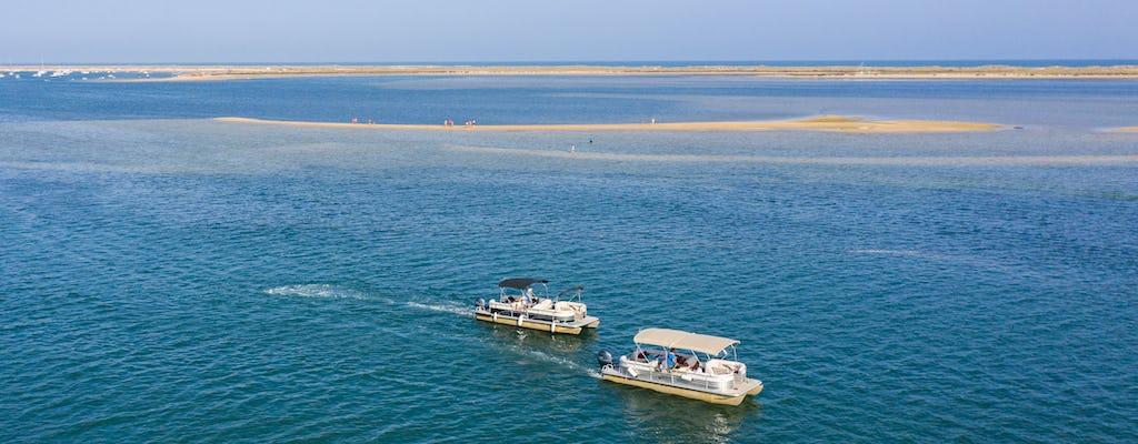 Gita in barca alle isole Deserta e Farol da Faro