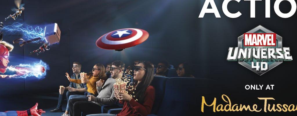 Ingressos para o Madame Tussauds Hollywood na Marvel 4D