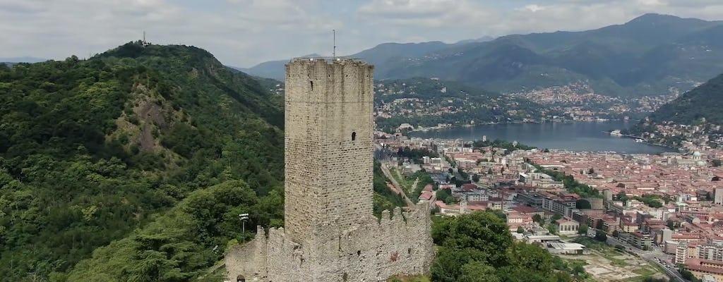 Abertura privada de um castelo medieval no Lago de Como
