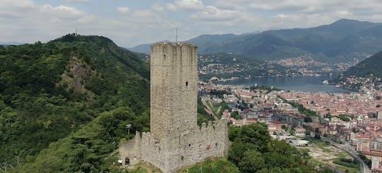 Apertura privata di un castello medievale sul Lago di Como