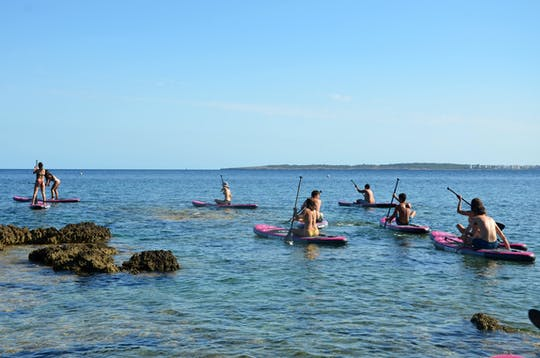 Sunset Paddleboard Experience Majorca