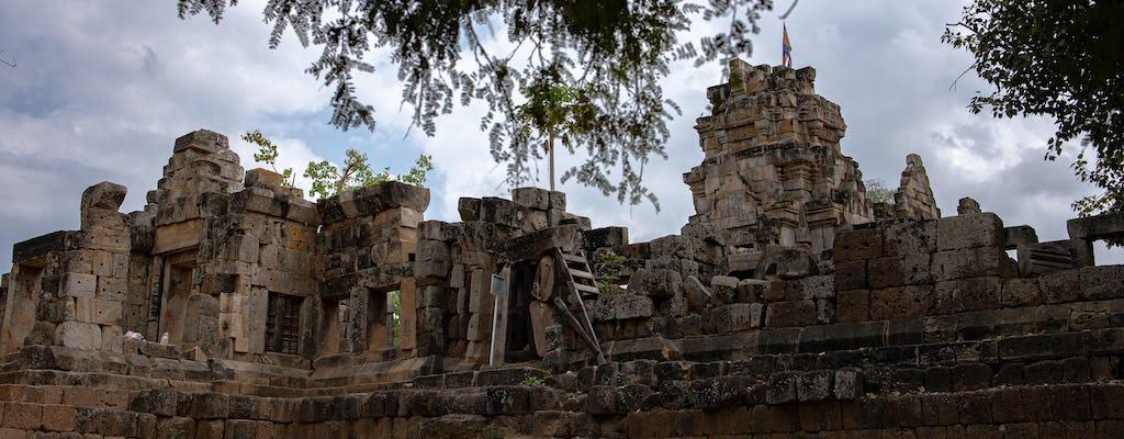 Points forts de Battambang en Tuk Tuk journée complète