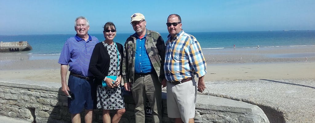 D-Day beaches private guided tour from Rouen