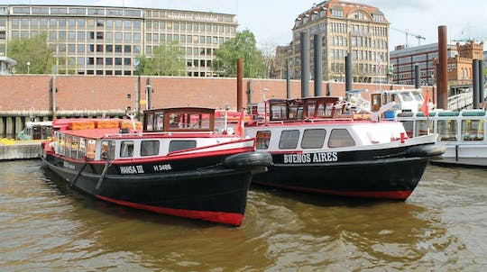 Grand harbor tour by boat in Hamburg