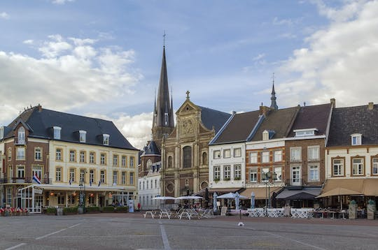 Walking tour in Sittard with a self-guided city trail