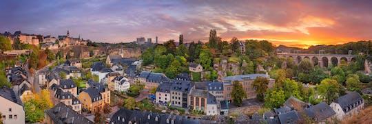 Tour a pie por Luxemburgo con un recorrido autoguiado por la ciudad