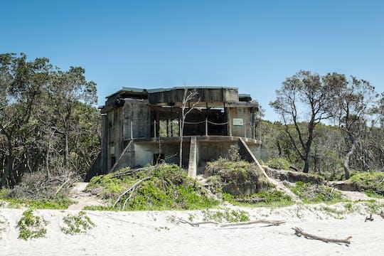 Bribie Island 4WD beach and bunker tour