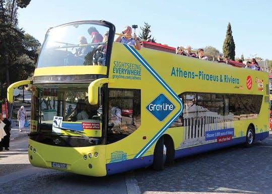 Ingressos para a Acrópole com passe de ônibus hop-on hop-off