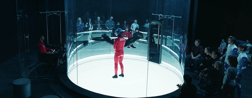 iFLY Montgomery indoor skydiving experience