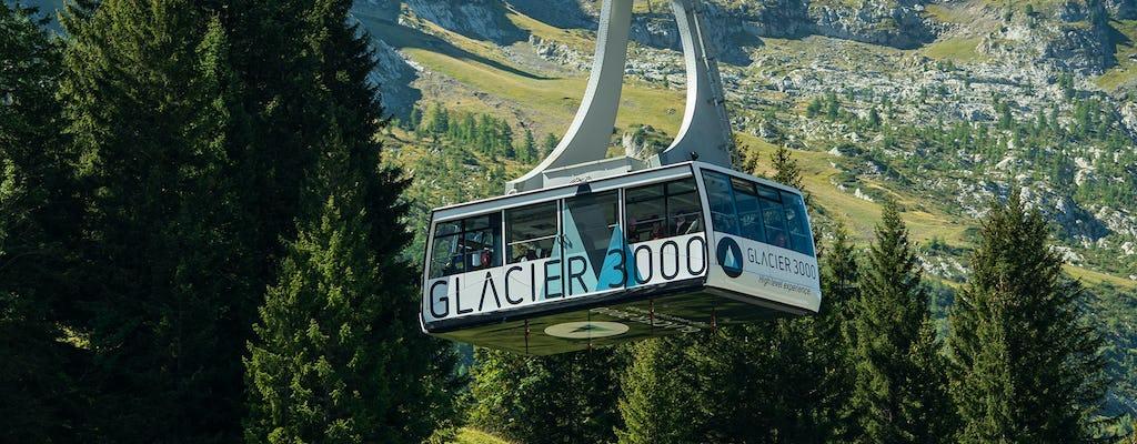 Glacier 3000 gold tour de Montreux