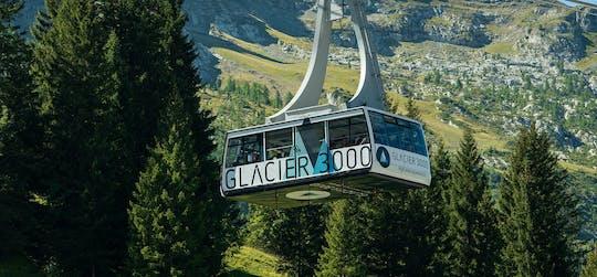 Glacier 3000 gold tour from Montreux