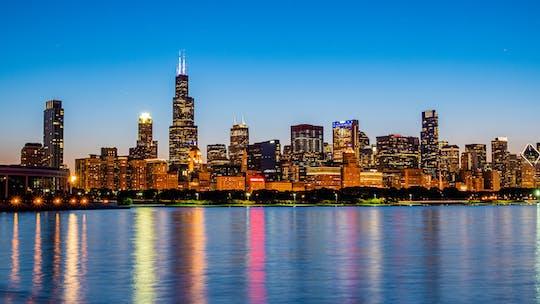 Big Bus panoramic night tour of Chicago