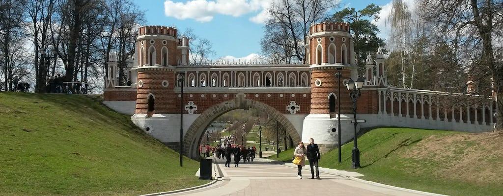 Visita guiada ao Parque Tsaritsyno em Moscou