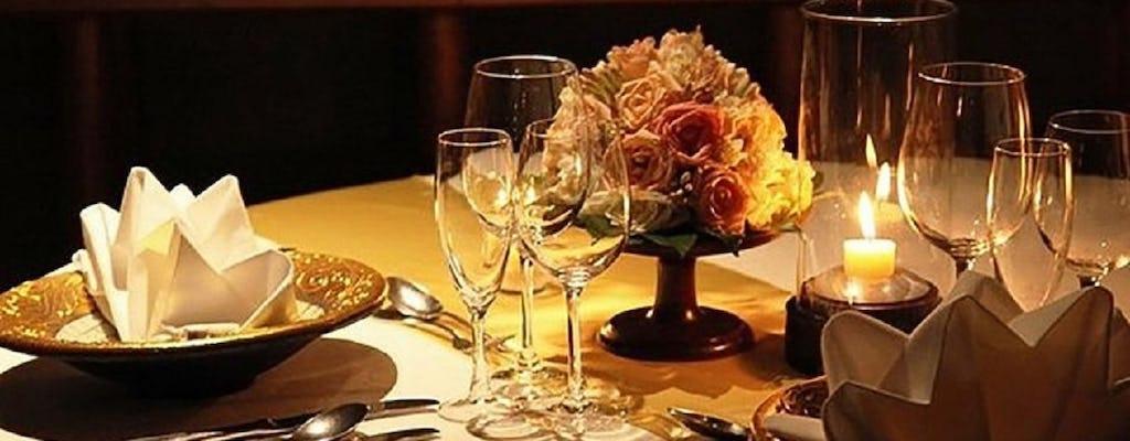 Cena romantica e degustazione di vini in Toscana