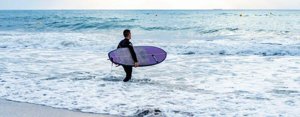 Surfing Lessons at Cerritos Beach
