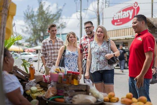 Visite de la nourriture de rue du Mexique et du marché local d'art