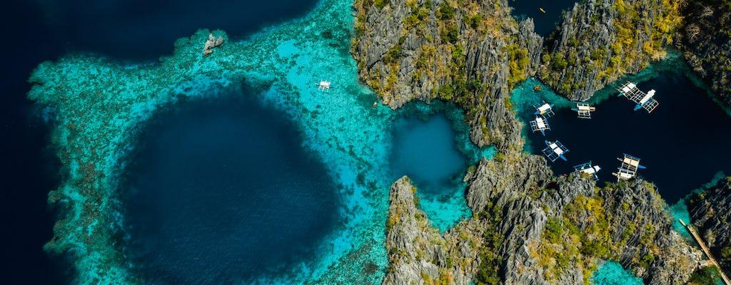 Ganztägige Coron Island Tour B mit Barracuda Lake und Twin Lagoon